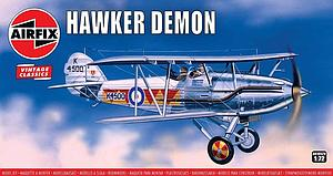 Airfix 1:72 Scale Model Plastic Model Kit Hawker Demon (A01052V)