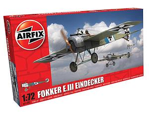 Airfix 1:72 Scale Plastic Model Kit Fokker E.III Eindecker (A01087)