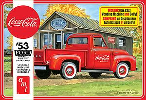 '53 Ford F-100 Pickup (Coca-Cola) (AMT1144M/12)