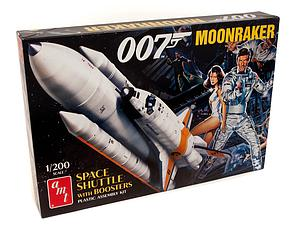 AMT 1:25 Scale Model Kit James Bond Moonraker Space Shuttle with Boosters (AMT1208)