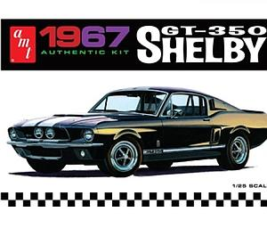 1967 Ford Shelby GT-350 Black (AMT834M)