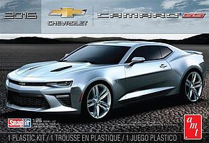 AMT 1:25 Scale Model Kit Snap It 2016 Chevy Camaro SS (Garnet Red) (AMT982M)