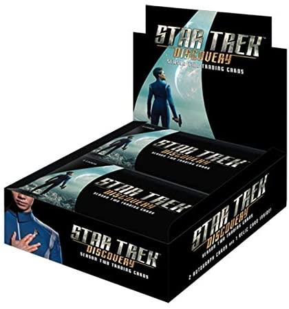 Star Trek Discovery Season Two Trading Cards Box