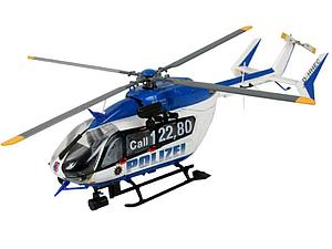 Revell Germany 1:72 Scale Model Kit Eurocopter EC145 Police/Gendarmerie (04653)