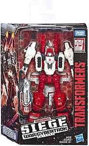 "Transformers Siege War for Cybertron Deluxe Class 6"" Action Figure Autobot Sixgun"