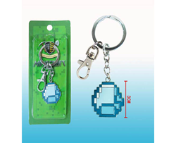 Minecraft Diamond Keychain