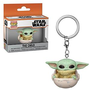 Pop! Pocket Keychain The Mandalorian Vinyl Figure The Child (in Pod)