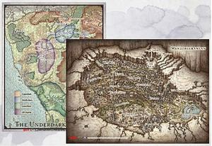 "Dungeons & Dragons: Out of the Abyss Map Set (23"" X 16"" & 20"" X 16"")"