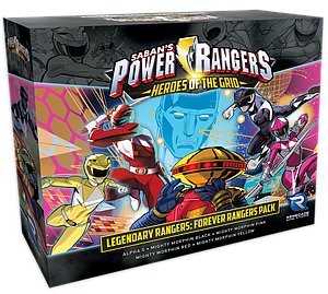 Power Rangers: Heroes of the Grid - Legendary Ranger Forever Rangers