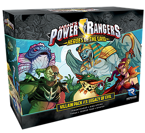 Power Rangers: Heroes of the Grid - Villain Pack #3: Legacy of Evil