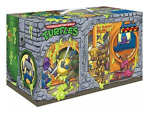 Teenage Mutant Ninja Turtles Retro: Retro Rotocast Sewer Lair
