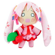 "Plush Toy Vocaloid 12"" Pink Miku"