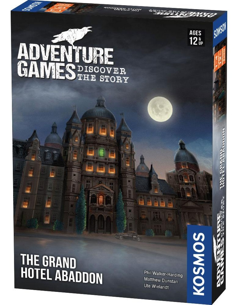 Adventure Games: The Grand Hotel Abaddon