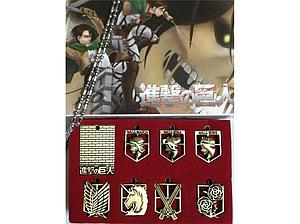 Attack on Titan 8-Piece Necklace: Military