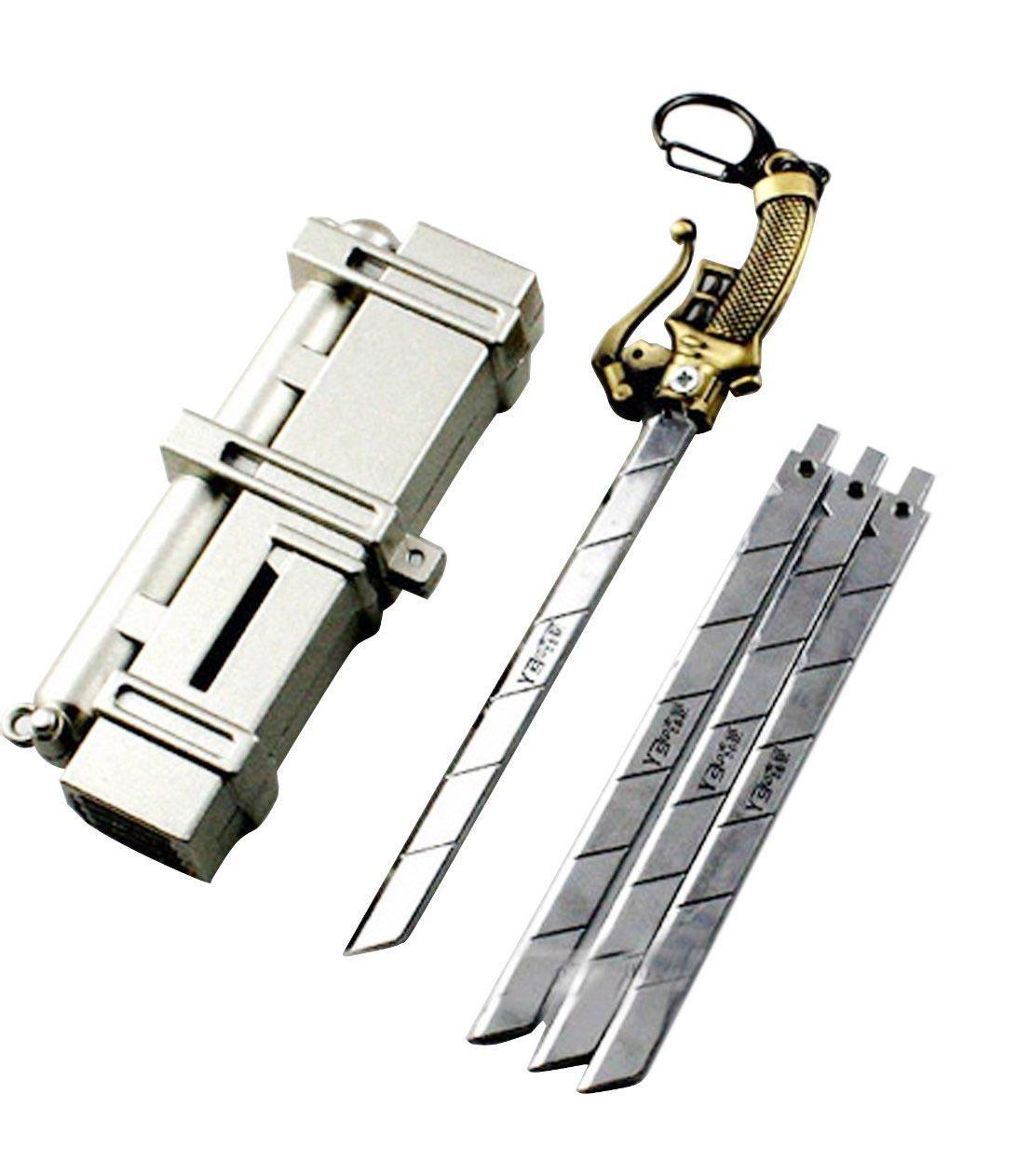 Attack on Titan Keychain 5-Piece Set 3D Maneuver Gear ...