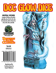 Dungeon Crawl Classics: Glow Dice Set - Neutral Wizard