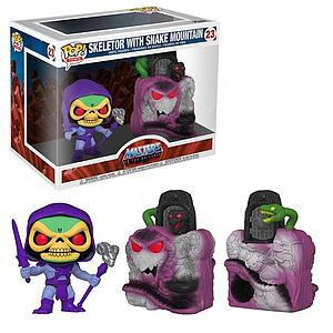 Pop! Town Television Masters of the Universe Vinyl Figure Snake Mountain with Skeletor