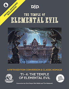 Original Adventures Reincarnated #6: Temple of Elemental Evil