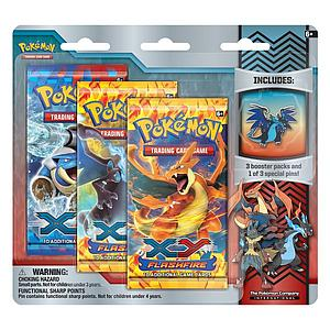 Pokemon Trading Card Game Collector's Pin Pack: Mega Charizard X