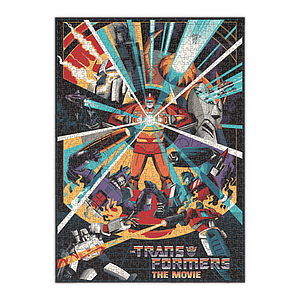 Puzzle 1000 Piece Transformers: The Movie