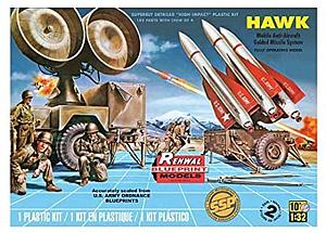 Hawk Mobile Anti-Aircraft Guided Missile System with Crew (85-7813)