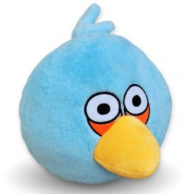 "Plush Toy Angry Birds 12"" Blue Bird"