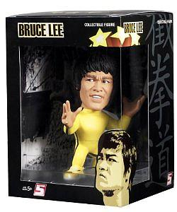 Titans 5 Inch Collectibles: Bruce Lee (Yellow Track Suit)