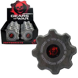 Gears of War Cog Tag Candy: Peppermints
