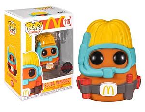 Pop! Icons McDonald's Vinyl Figure Scuba McNugget #115 Special Edition Exclusive