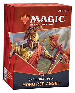 Magic the Gathering: 2021 Challenger Deck - Mono Red Aggro