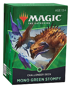 Magic the Gathering: 2021 Challenger Deck - Mono Green Stompy