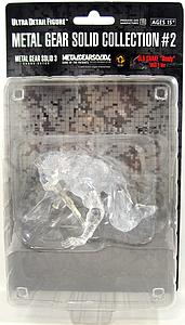 Metal Gear Solid Collection #2 Ultra Detail: Old Snake (Ready) [Clear Variant]