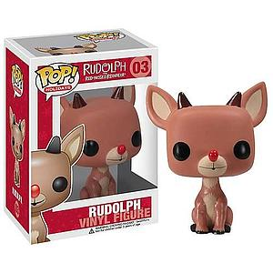 Pop! Holidays Rudolph the Red-Nosed Reindeer Vinyl Figure Rudolph #03 (Vaulted)