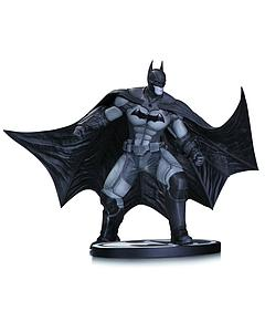 DC Collectibles Black & White Series Arkham Origins Statue: Batman