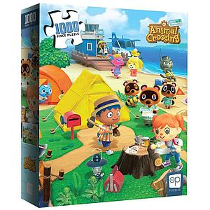 "Puzzle 1000 Piece Animal Crossing ""Welcome to Animal Crossing"""