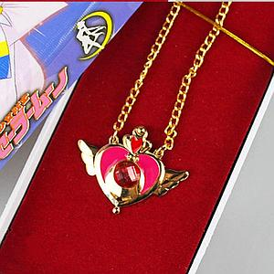 Sailor Moon Necklace Gold Heart