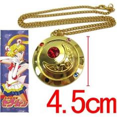 Sailor Moon Gold Moon Necklace