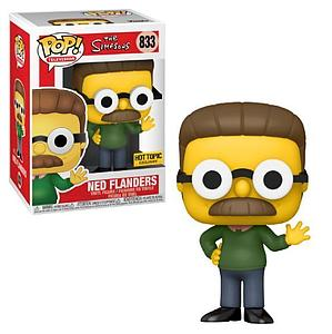Pop! Television The Simpsons Vinyl Figure Ned Flanders #833 Hot Topic Exclusive