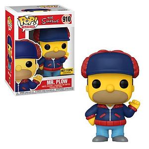 Pop! Television The Simpsons Vinyl Figure Mr. Plow #910 Hot Topic Exclusive