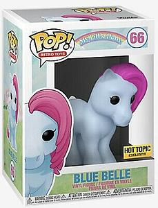 Pop! Retro Toys My Little Pony Vinyl Figure Blue Belle #66 Hot Topic Exclusive