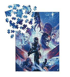 Dark Horse Puzzle 1000 Piece Mass Effect Trilogy - Heroes