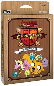 Adventure Time Card Wars For the Glory: Sealed Hero Pack(15 Oversized Cards)