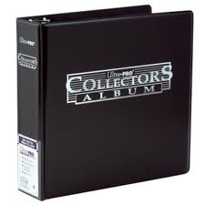 "3"" Collectors Album (Generic Black Binder)"