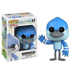 Pop! Television Regular Show Vinyl Figure Mordecai #47 (Retired)