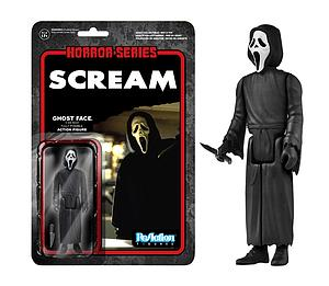 ReAction Figures Horror Series Scream Ghostface Killer (Vaulted)