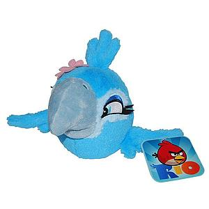 "Plush Toy Angry Birds 5"" RIO Jewel with sound"
