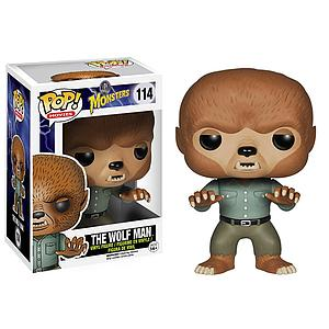Pop! Movies Universal Monsters Vinyl Figure The Wolf Man #114 (Vaulted)