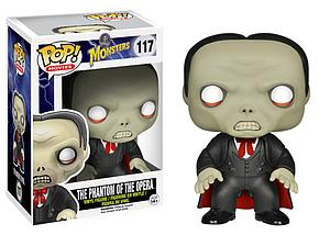 Pop! Movies Universal Monsters Vinyl Figure The Phantom of the Opera #117 (Vaulted)