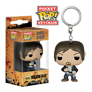 Pop! Pocket Keychain The Walking Dead Vinyl Figure Daryl Dixon