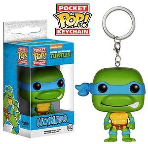 Pop! Pocket Keychain Teenage Mutant Ninja Turtles Vinyl Figure Leonardo